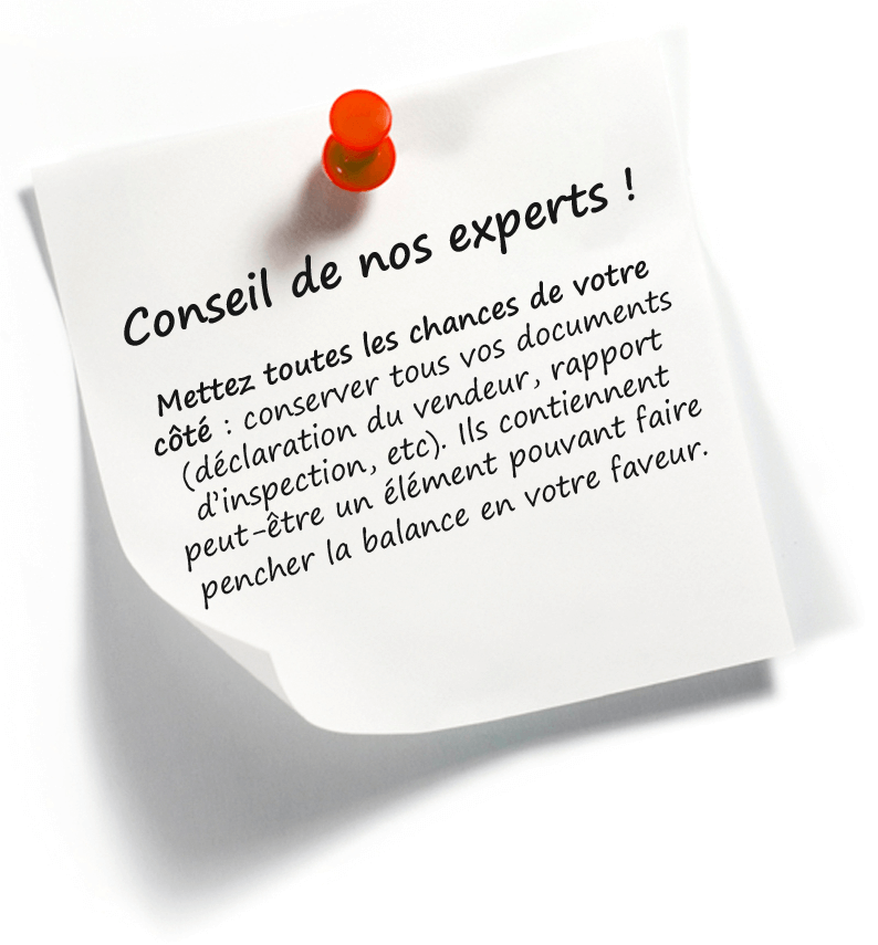 CONSEIL DE NOS EXPERTS