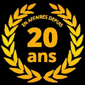 EN AFFAIRES DEPUIS 20 ANS