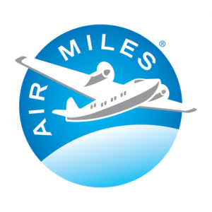 AIR MILES logo on white background - square_EN