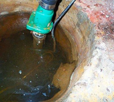 drain francais puisard eau sous-sol