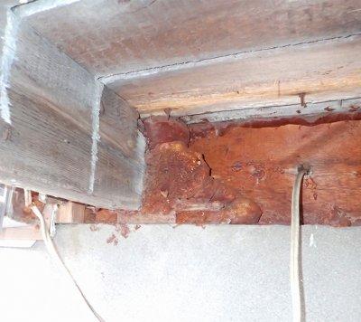 infiltration eau jonction matériaux sous-sol