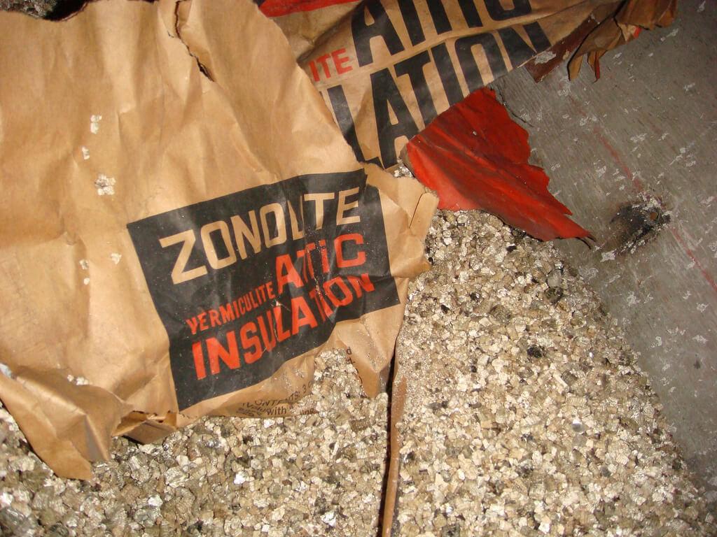 Vermiculite et amiante